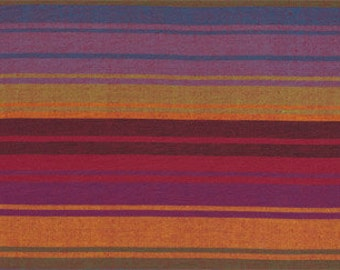 EXOTIC STRIPE PURPLE Woven wexotic.purple  by  Kaffe Fassett fabric sold in 1/2 yard increments