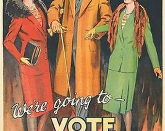 1920's Vote Liberal British Election Poster A3 Print