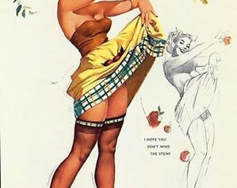 1950's Pin Up Poster 51 A3/A2/A1 Print
