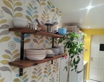 Solid Kiln Dried Oak Shelving System