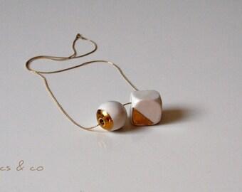 Hanging ceramic luster