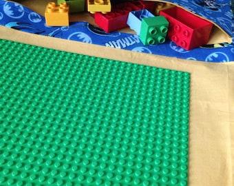 Traveling case for Lego, lego board, lego teavel case, travel game for kids, games for resturants and car