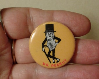 Mr. Peanut pin
