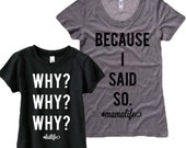 Mommy and Mini Youth shirt set, Mommy and me t-shirts,  Mommy and me, Trendy Shirt set.