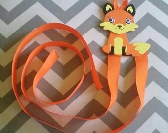 Fox Bow/Clip/Barrette Holder