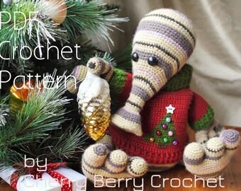 Christmas monster PDF Crochet Pattern