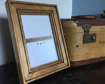 Handmade Pine Picture Frames - 5 x 7 - Made out of Clear Pine