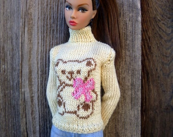 Sweater for Fashion Royalty, Poppy Parker, Barbie MTM