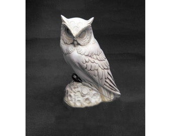 Greek Owl Sculpture