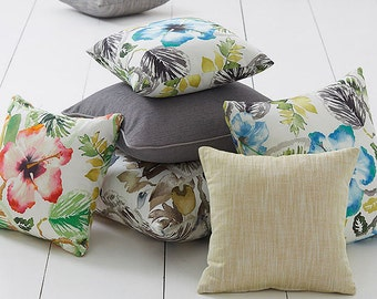Tropicana Floral Cushion Covers. You Choose