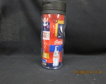 Insulated Coca Cola Glass created for Royal Caribbean International