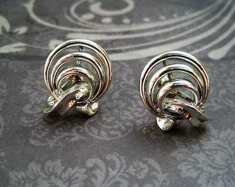 twist back earrings etsy