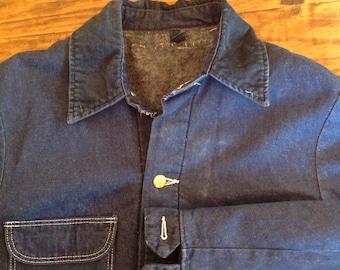 Wrangler Sanforized lined chore coat  size 36
