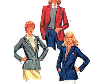 McCall's Sewing Pattern 7263 Misses' Jacket   Size:  16  Uncut