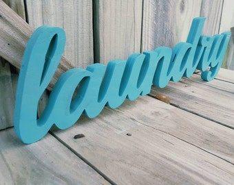 Laundry sign, laundry room, wall hanging, wall decor,home decor