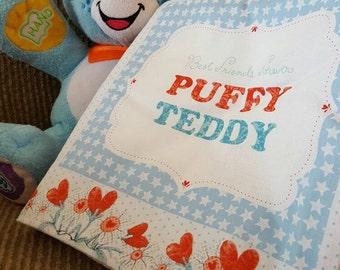 Puff Teddy (Boy)~Cuddle Book