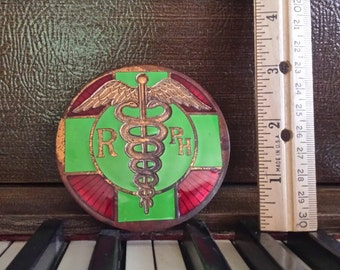 Vintage Auto Emblem Pharmacist