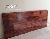 72x24 Wood Tabletop. Stock size shown. Made to Order. Choose Any Color!