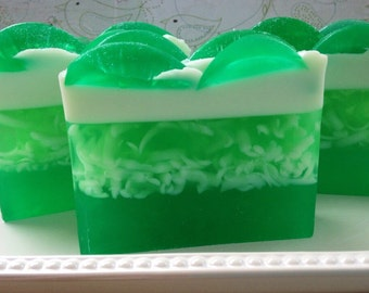 Coconut Lime - handcrafted glycerin soap