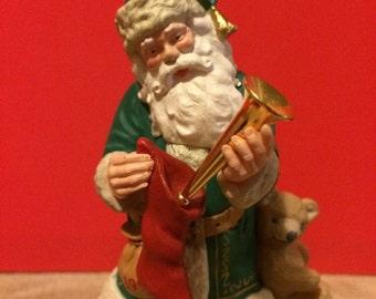 Vintage 1992 Hallmark Christmas Ornament, Merry Olde Santa