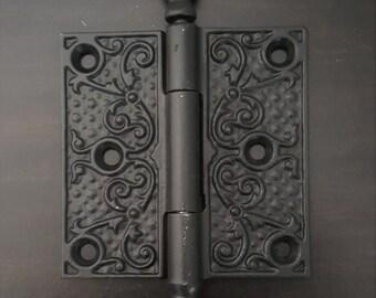 Antique Iron Decorative Scroll Hinge 530660