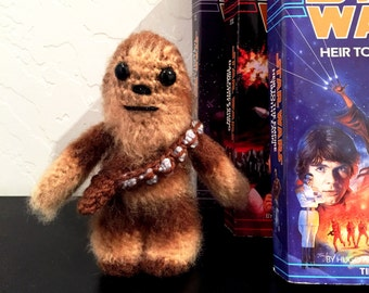 Chewbacca Crochet Doll - Chewbacca  Plush - Star Wars Chewbacca  Plush - Chewbacca  Amigurumi