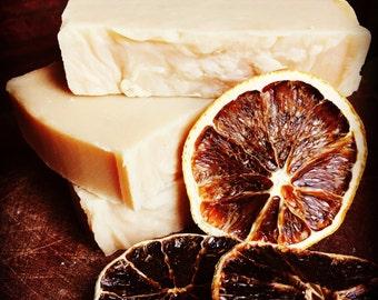 Citrus burst shampoo & body bar