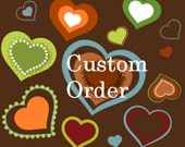 Special paper pattern order for Shanna