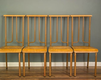 1970's French chapel chairs