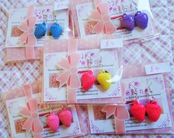 Strawberry Kawaii Earrings