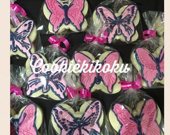 Butterfly Cookies Nut-Free 12 pcs