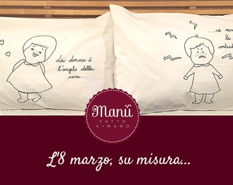 "Pillowcases ""8 March"""