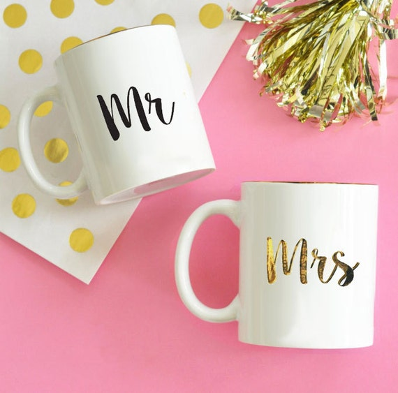 Mr And Mrs Gift Ideas: Mr And Mrs Mugs Mr And Mrs Coffee Mugs Bride And Groom