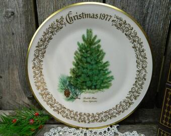 Vintage Lenox Christmas Commemorative Issue - Scotch Pine - 1977