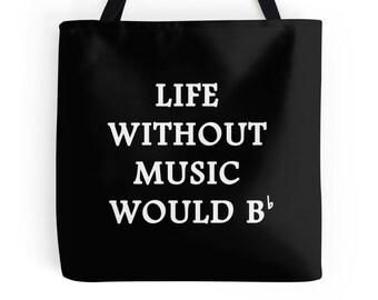 Music Quote, Music Teacher, Music Bag, Music Student, Music Art, Music Quote, Music Tote, Music Purse, Music Tote Bag