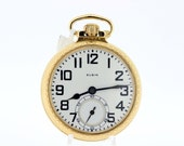 21 Jewel Elgin Pocket Watch BW Raymond Gold Filled