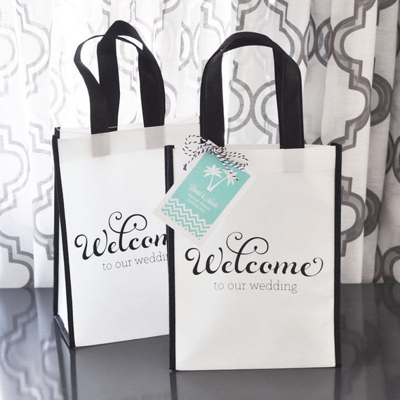Wedding Guest Welcome Bags/Out of Town Wedding Guest Bags/Wedding ...