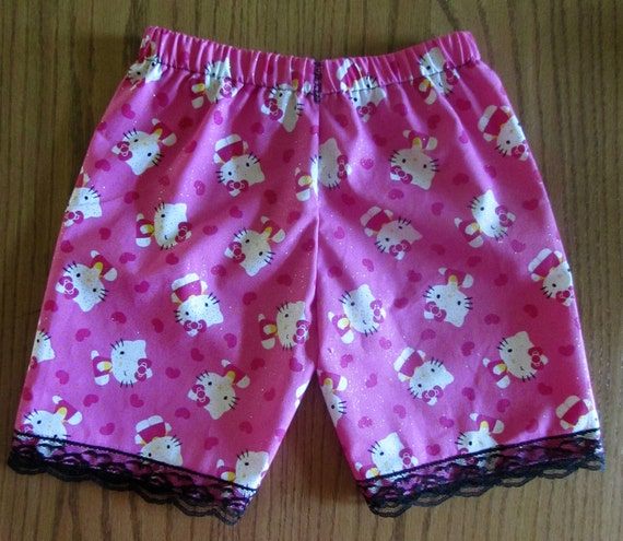 Hello Kitty shorts /girls shorts/cotton shorts/lace shorts/hello kitty clothes/gift for girl/girls gift/Hello Kitty