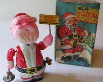 Vintage Wind Up Santa Clause