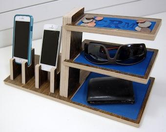 Double Phone Docking Station Organizer