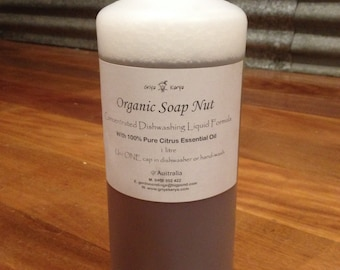 Organic Soap Nut Concentrated DISHWASHING Formula