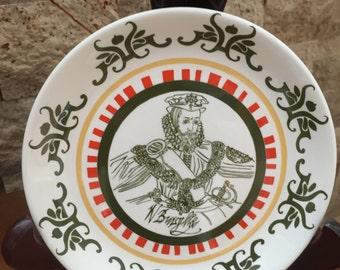 Vintage Shakespeare Exhibition Commemorative Plate 1964