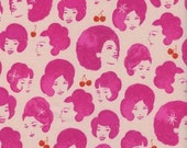 Fat Quarter Fruit Dottie Friend in Orchid by Melody Miller for Cotton and Steel