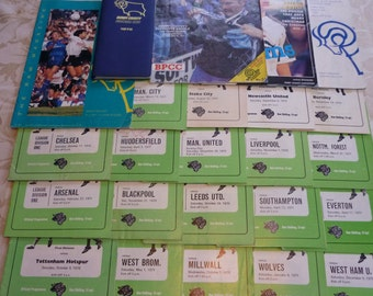 Derby County F.C.Football programmes 19 x 1970/71 season + 4 others and 1978 diary.Possible signed 71 programme vs Huddersfield Town