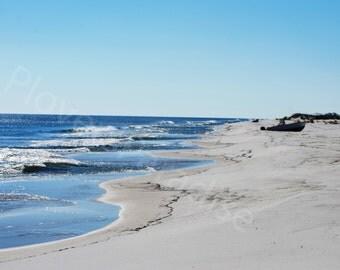 Beach Photograph // Florida Nature Photography // Ocean View Landscape