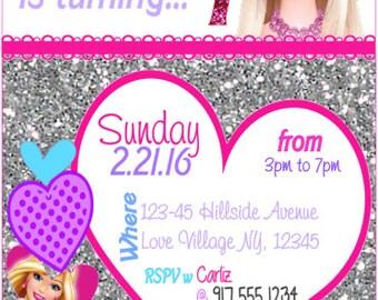 Barbie Invitation