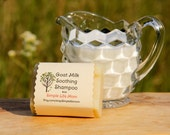 GOAT MILK SHAMPOO Bar - 100% natural, Handmade, cold processed, with scalp soothing essential oils