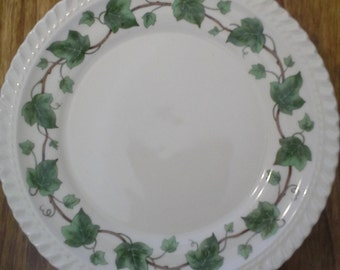Vintage Harker Pottery Company Royal Gadroon Ivy Vine Bread or Dessert Plate (3) Three