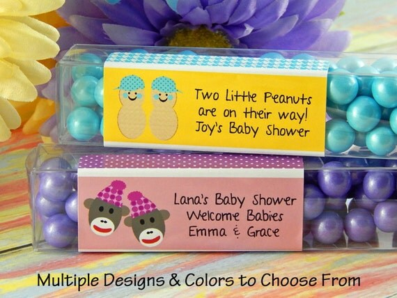 Baby Shower Favors For Twins ~ Twin baby shower favors personalized twins by