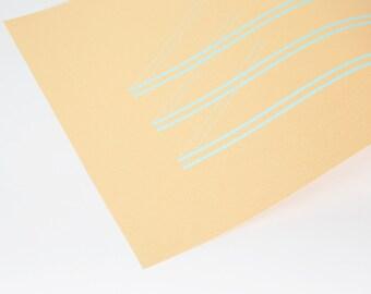 Metallic Print - Ed. 1 Pantone 573 on Gold
